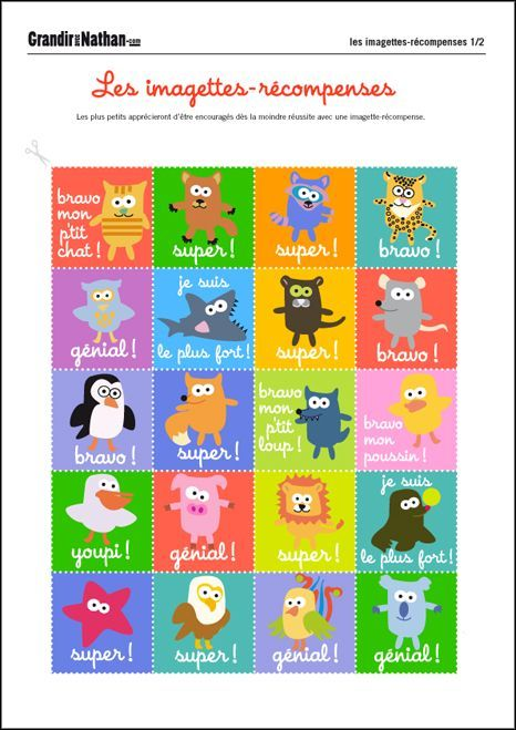 """Assez Résultat de recherche d'images pour """"tableau comportement enfant à  KR96"""