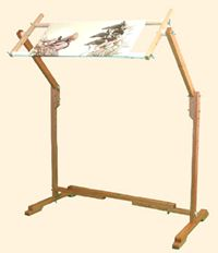 cross stitch and needlepoint floor stand larger picture and detailed information