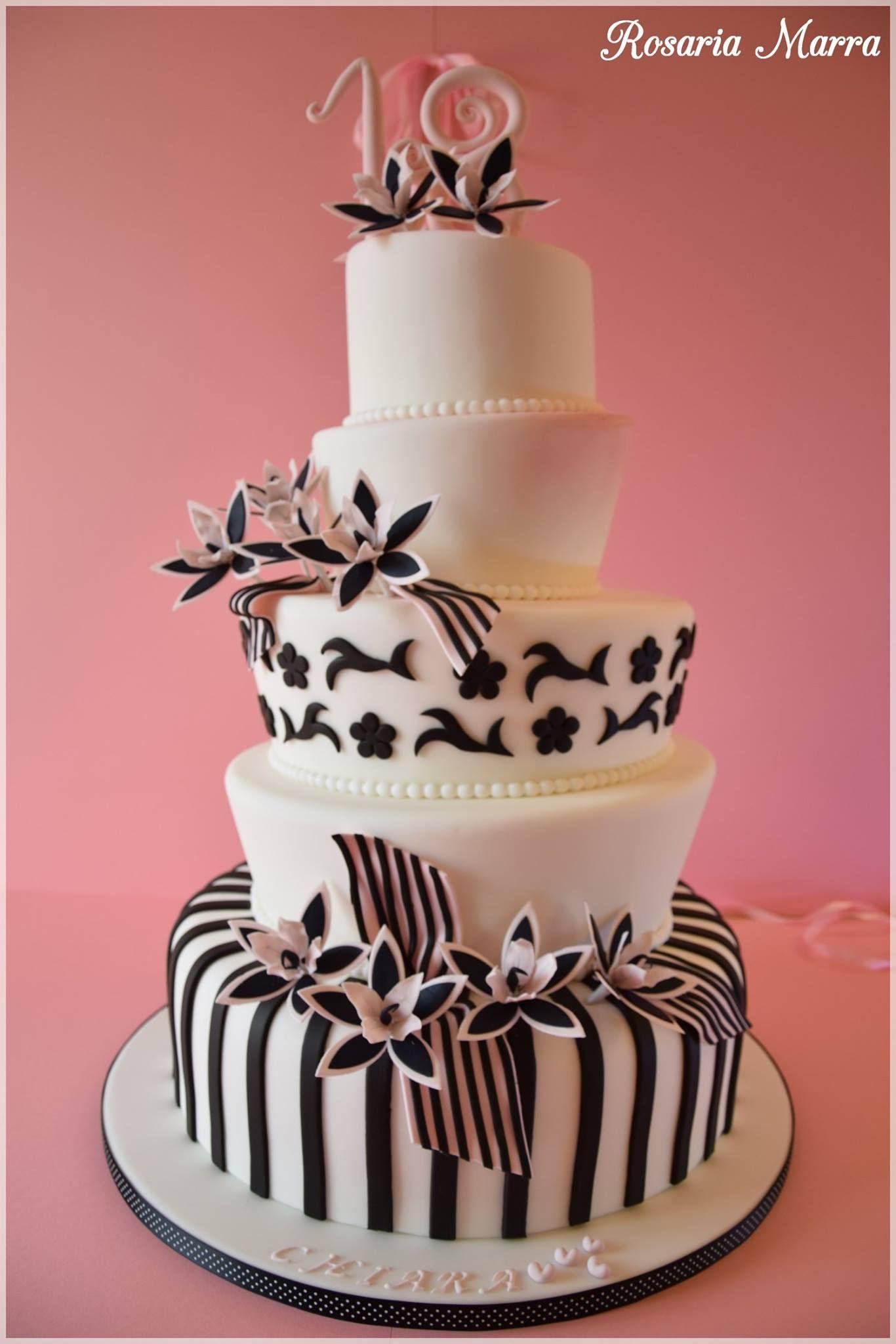 Torta Compleanno 18 Anni Compleanno Festa Party Torta Puglia