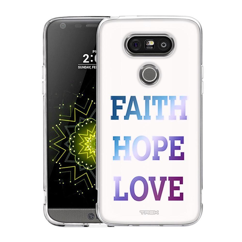 Lg g faith hope love on white slim case products