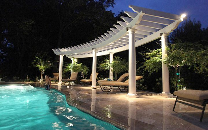Custom pergola kit sizes and shapes are no problem with Trex Pergola. If  our standard sizes don't fit, Trex Pergola can be custom built to meet  almost any ... - Custom Pergola Kit Sizes And Shapes Are No Problem With Trex Pergola