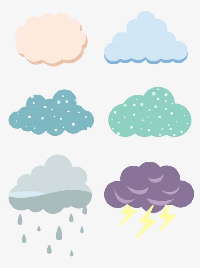Hand Drawn Cartoon Clouds Raining Thunder Commercial Set Hand Drawn Style Cartoon Cloud Png Transparent Clipart Image And Psd File For Free Download In 2020 Cartoon Clouds Cloud Drawing How To