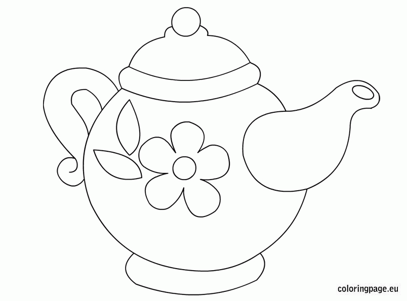 Download Or Print This Amazing Coloring Page Teapot Coloring Page Printable In 2020 Coloring Pages Coloring Sheets Printable Coloring Pages