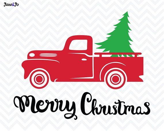 Christmas Tree Truck Svg Free.Pin On Christmas Shirts