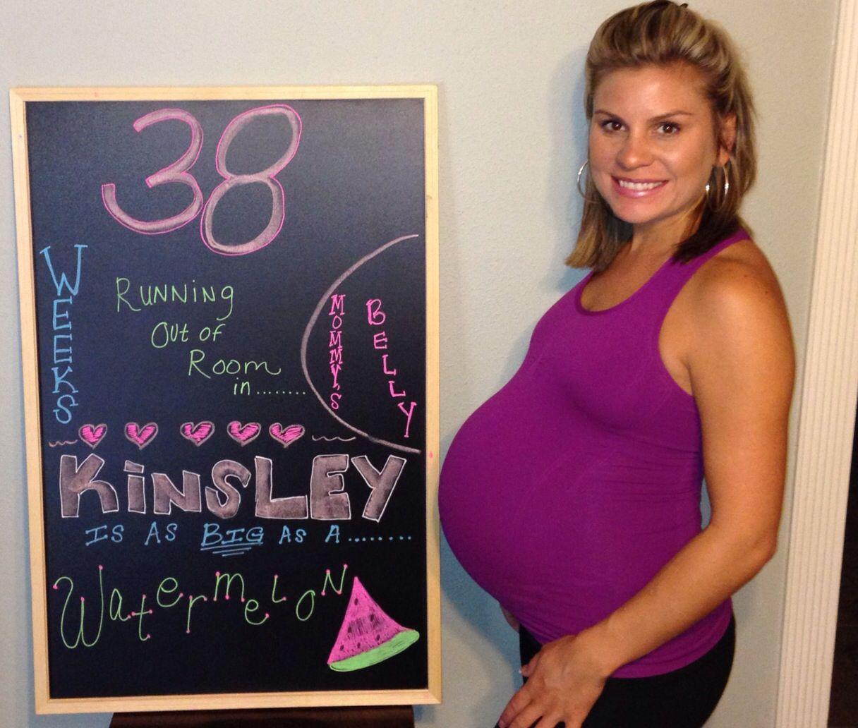 38 weeks pregnant | Kinsley Elizabeth | 38 weeks pregnant
