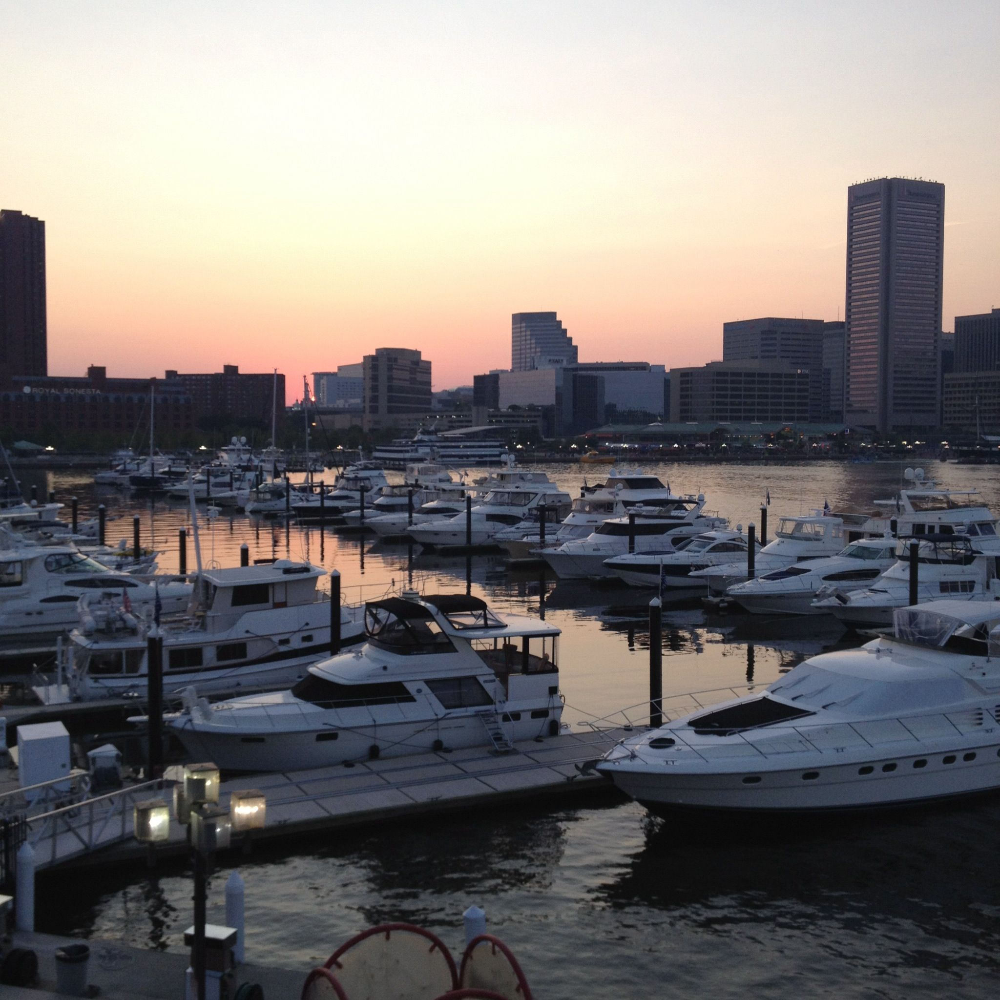 Seafood And Sunset Rusty Scupper Yelp Baltimore