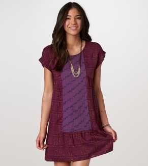 AE Exotic Printed Dress