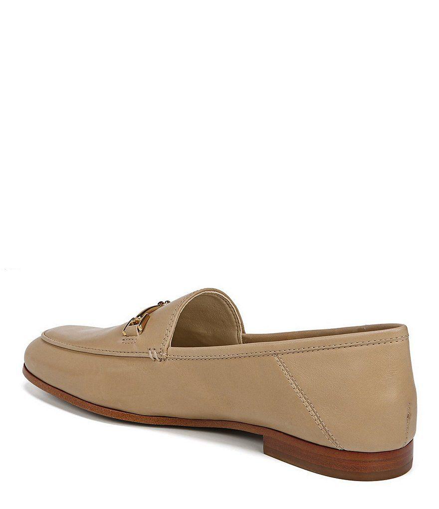 aa5ff10085ac1 Sam Edelman Loraine Leather Bit Embellishment Loafers Loraine