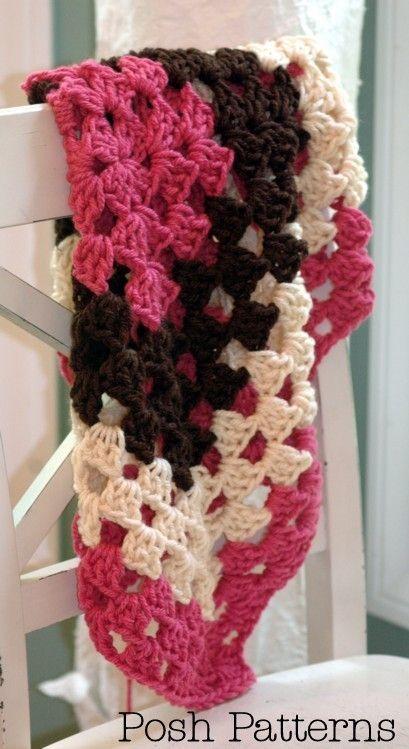 Crochet Pattern An Elegant Crochet Baby Blanket Pattern Thats