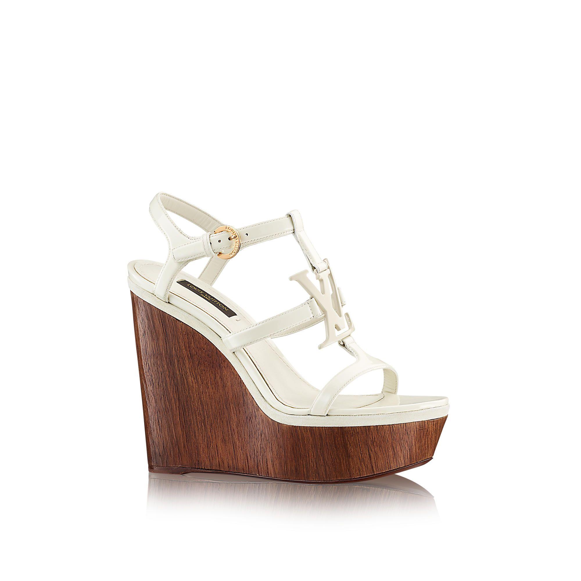 Discover Louis Vuitton Paradiso Sandal via Louis Vuitton