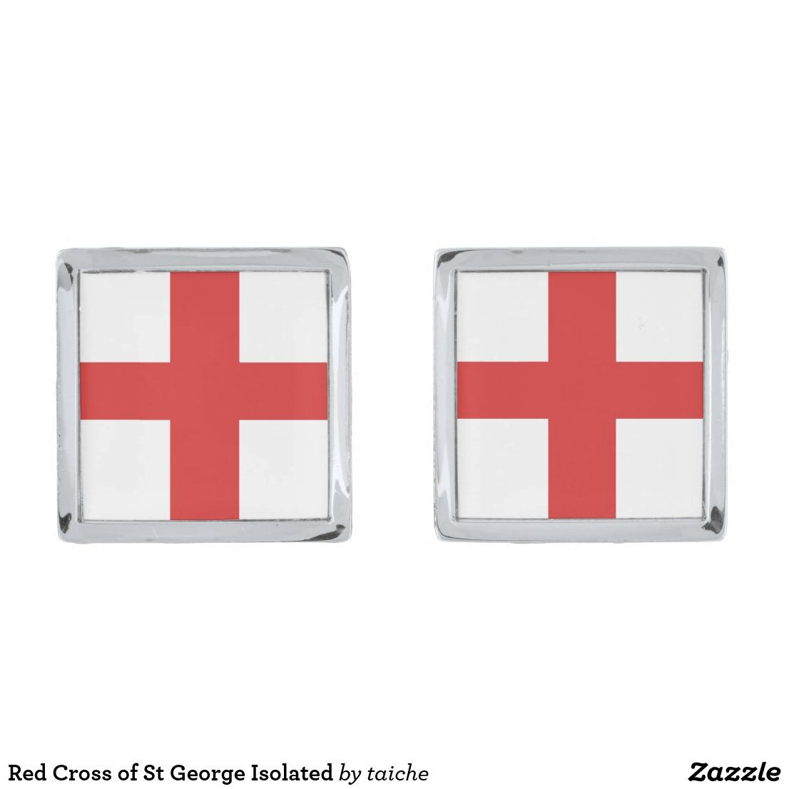 Red Cross Of St George Isolated Cufflinks In 2020 Red Cross St George Cross Flag