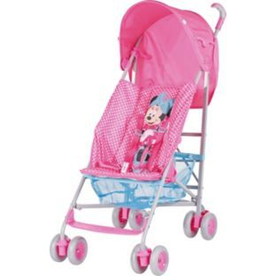 Buy Mothercare Disney Minnie Mouse Pushchair Pink At Argos Co Uk
