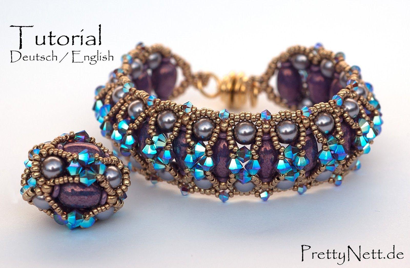 Tutorial - Bracelet and Beaded Bead \