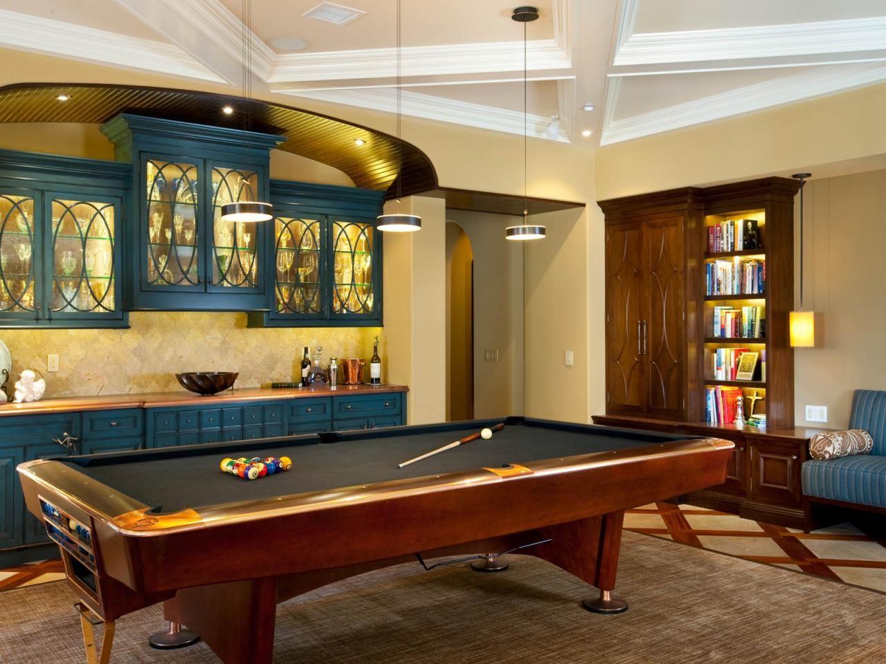 Game Room Design  Game Room Ideas Gallery  Game Room Design Fascinating Pool Table Living Room Design Inspiration Design
