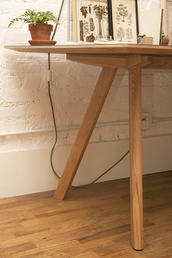 HAY Copenhague Table : McNally Jackson Store   interiors ...