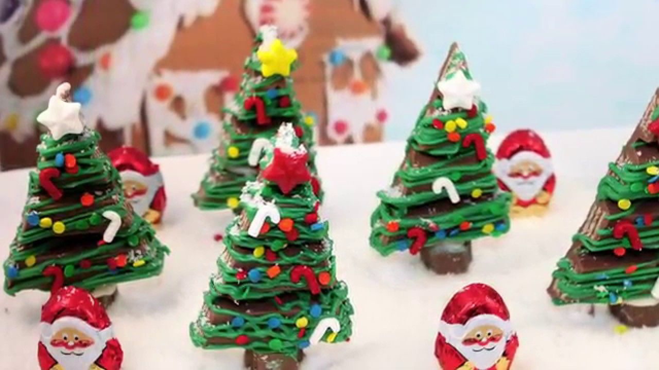 Kit Kat Christmas trees | christmas ideas | Pinterest | Christmas ...
