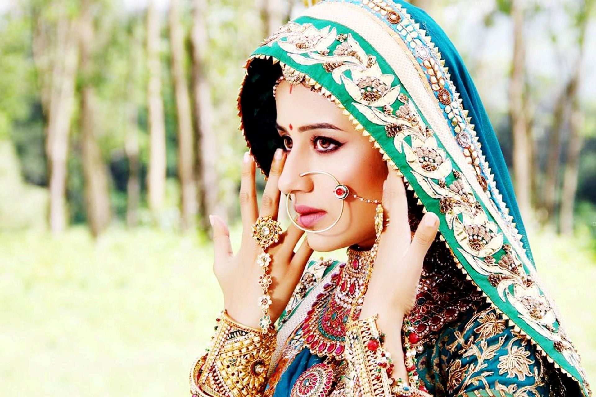 Hd wallpaper zee tv serial - Jodha Akbar Is An Indian Historical Drama That Airs On Zee Tv The Series Premiered