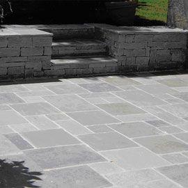 Calcaire Orient Grey Vieilli Multiformat Ep 2 Cm Sol Exterieur Terrasse Sol