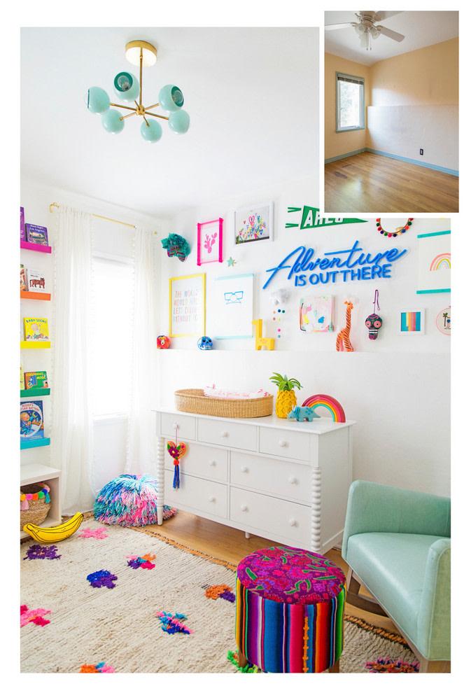 Colorful Kids Nursery Rainbow Room Home Design Ideas Colorful Kids Room Kid Room Decor Rainbow Room Kids