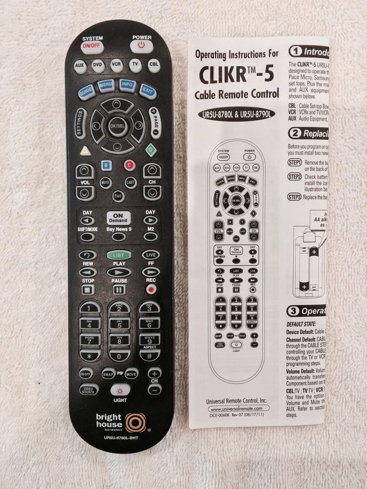 Bright House Remote