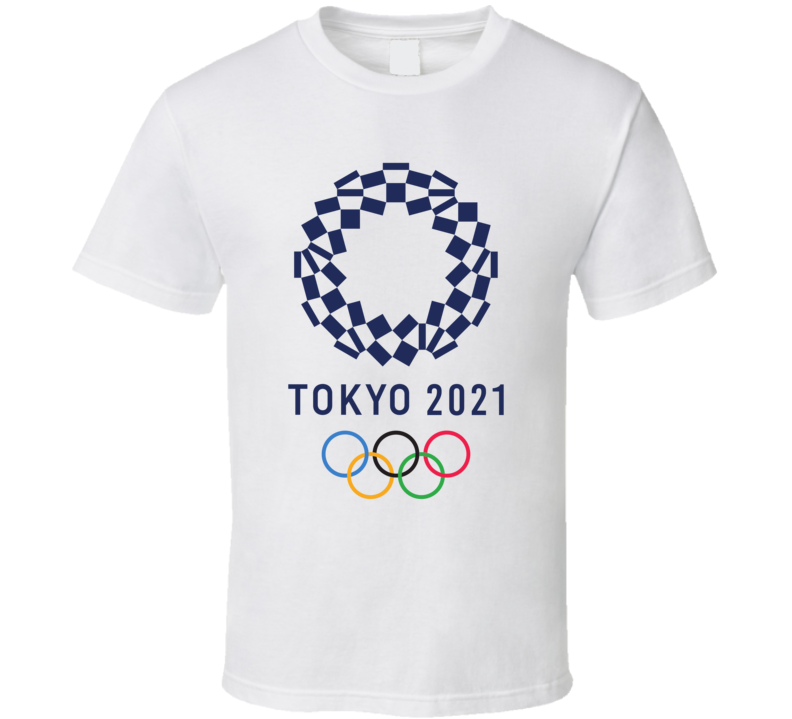 Tokyo 2021 Summer Olympics Updated Logo T Shirt in 2020