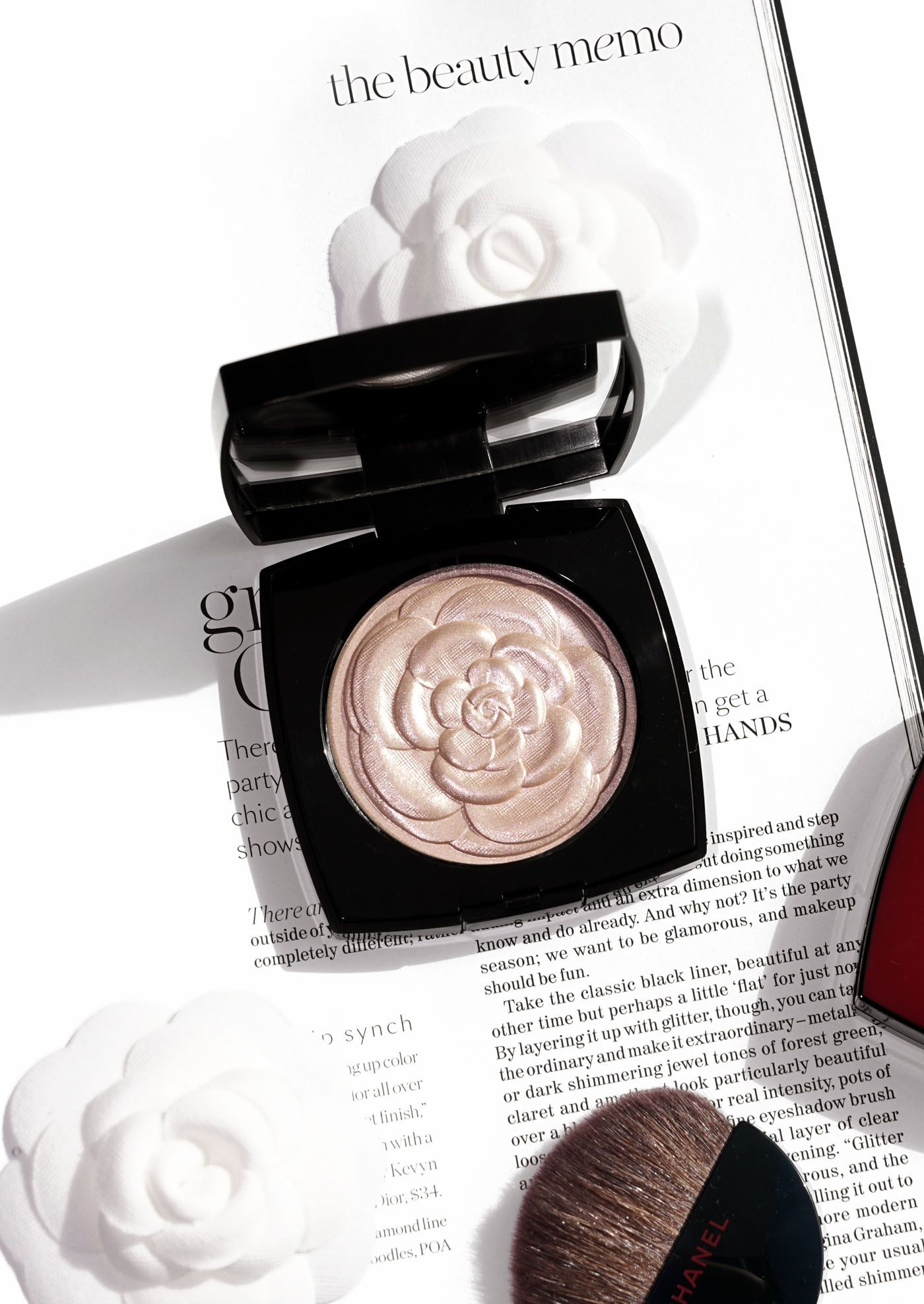 37b3a2b9b4 Chanel Camelia de Chanel Illuminating Powder (The Beauty Lookbook ...