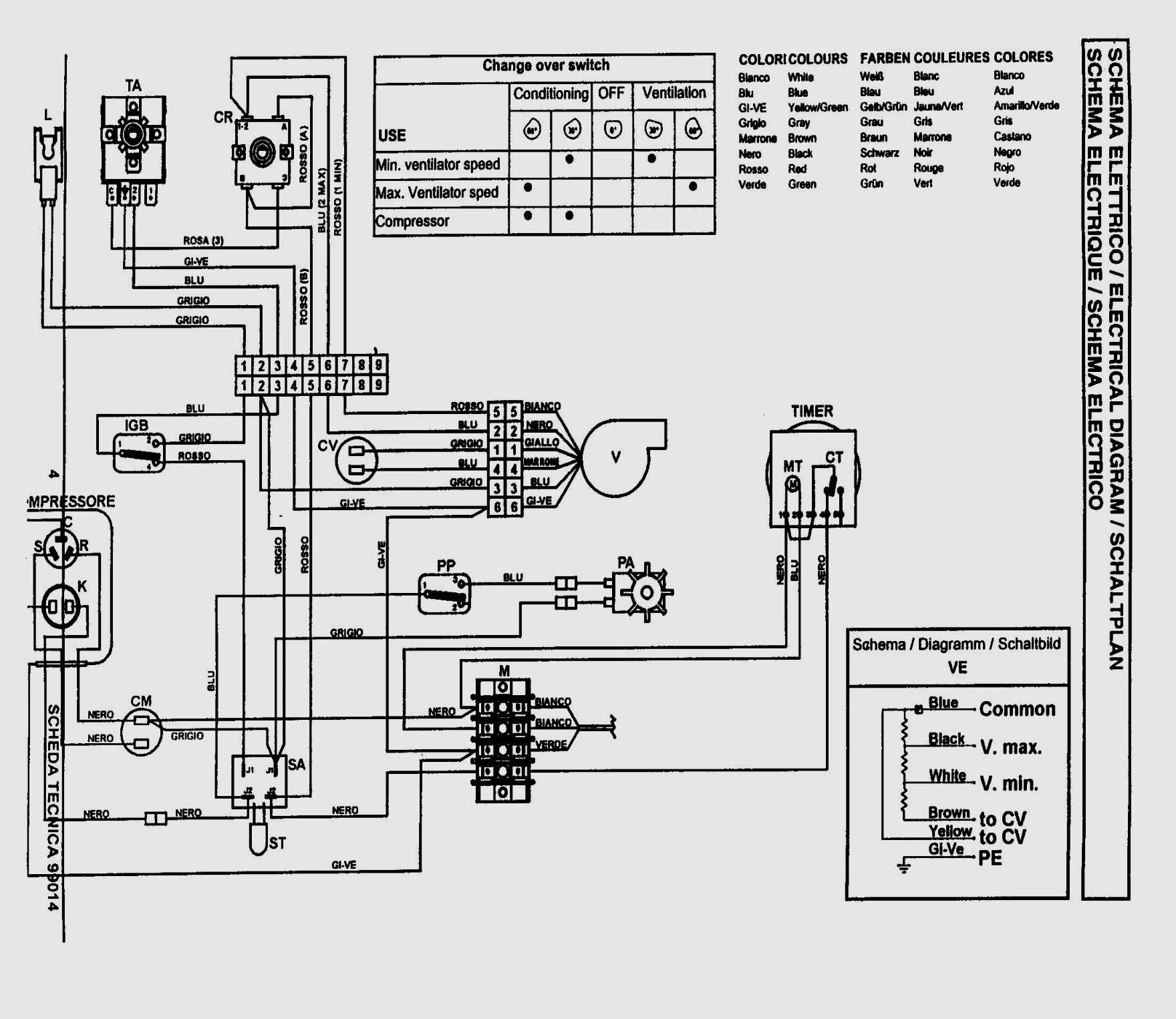 Unique Carrier Air Conditioning Unit Wiring Diagram (With