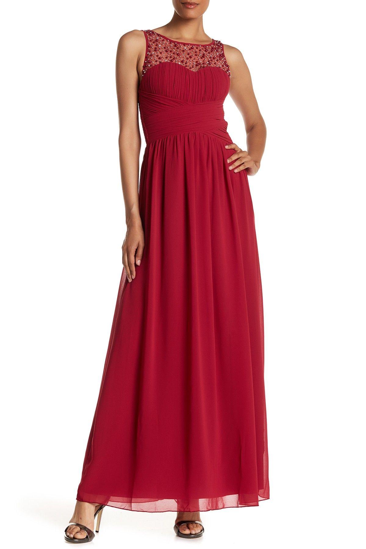 Embellished maxi dress by little mistress on hautelook dresses