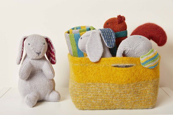 The Knitted Nursery Collection by Jem Weston | vlogs