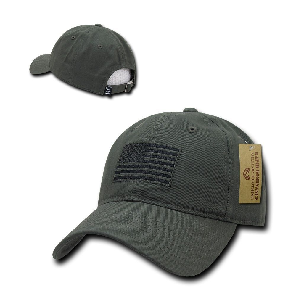 14.95 - Olive Usa Us American Flag Patch United States America Polo Baseball  Hat Cap  ebay  Fashion 55230d16dc6