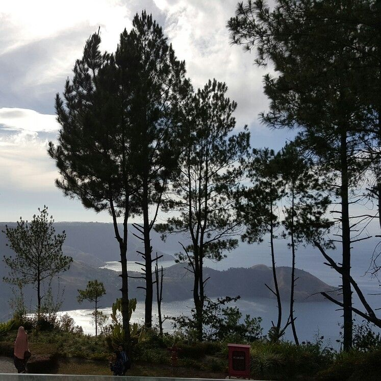 Morning hue of Lake Toba