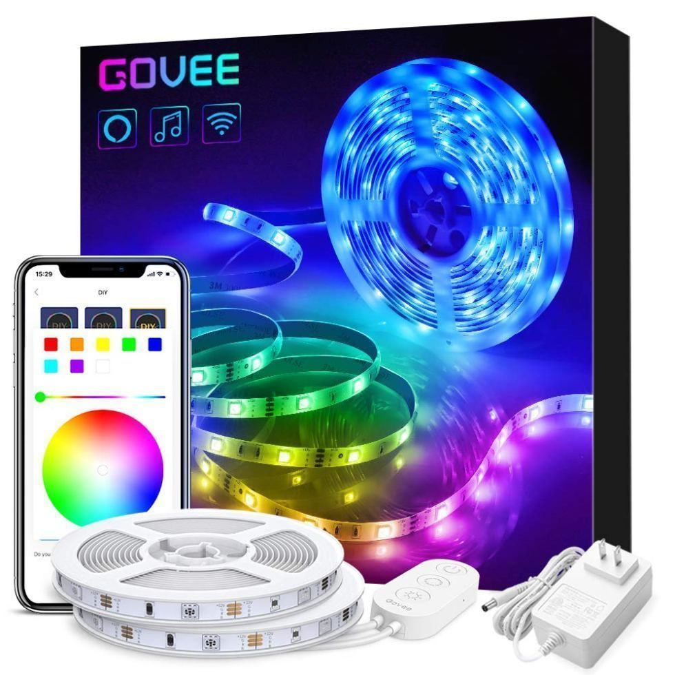 LED Strip Lights Works with Alexa Google Home TheBestnChic