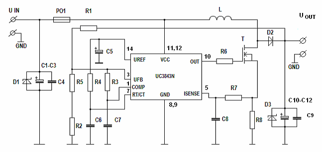 pulse generator circuit diagram of electronic tachometer
