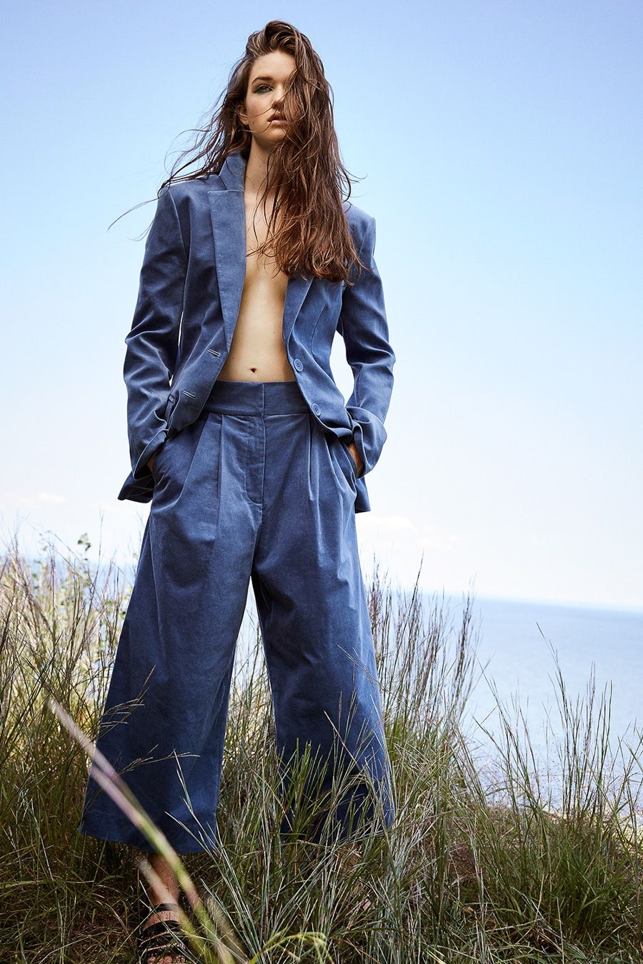 Remi Pyrdol Newest Editorial Featuring Femke Huijzer Beach