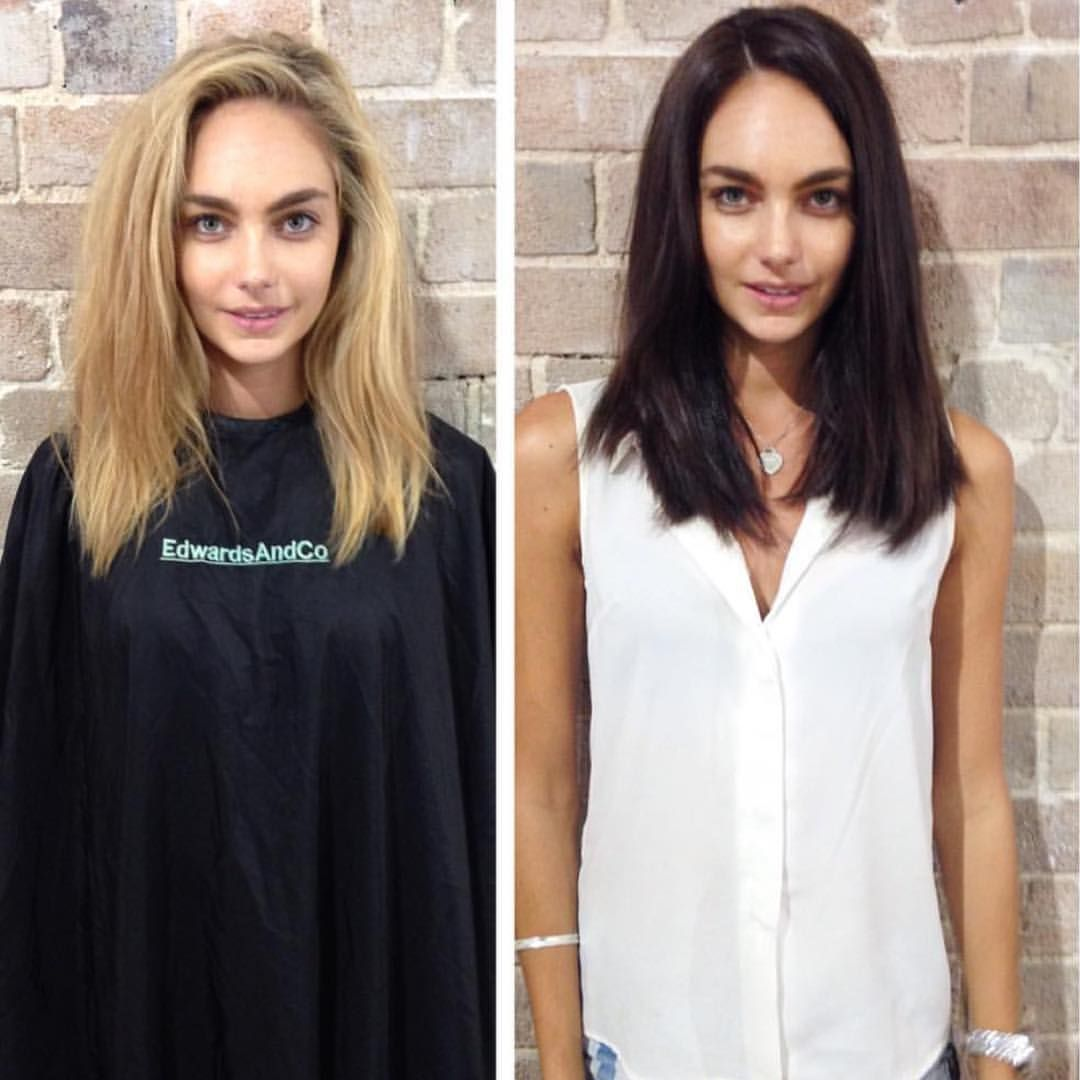 "@jayeaedwards / Edwards And Co på Instagram: ""#makeover by @colorkristina #edwardsandcosurryhills #edwardsandco #hair #brunette #brown #sydney"""