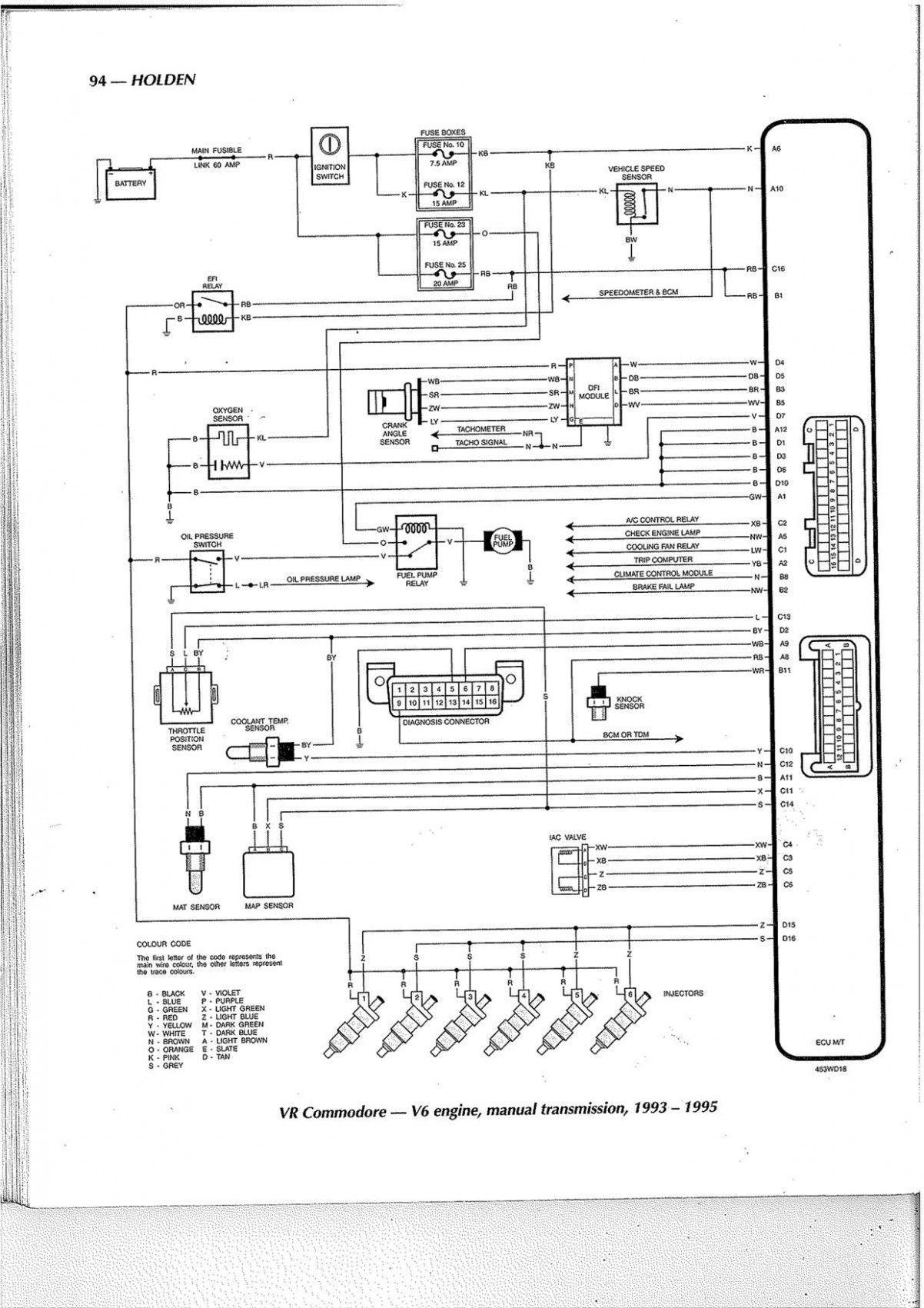 Vn V8 Engine Wiring Diagram