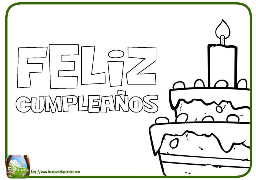 Wow Feliz Cumpleanos Letras Para Colorear 96 For Children With