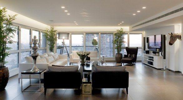 salones modernos con muchas ventanas - Buscar con Google - salones de lujo