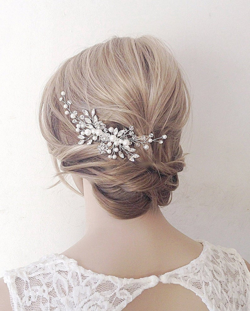 Bridal Hair Combwedding Hair Combbridal Hair Clip Bridal Etsy Bridal Hair Clip Bridal Headband Hair Bridal Hair