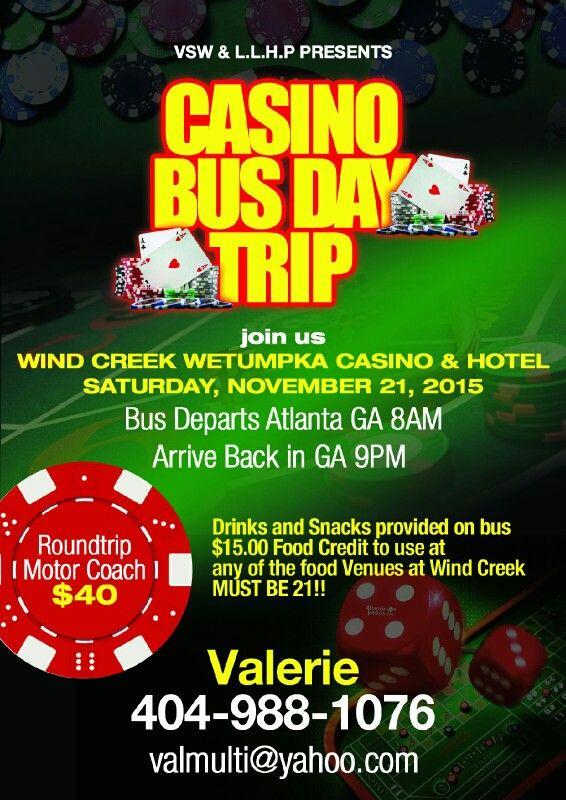 Bus trips to casino casino saltillo