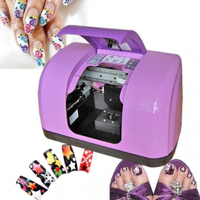 Pin By Shoppingate Pk On Makeup Supplies Tools Nail Art Machine Nail Printer Nail Art Printer