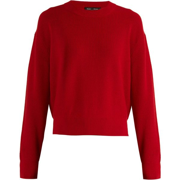 Sale Zip-detail wool and cashmere-blend knit sweater Proenza Schouler For Sale Cheap Real YrLx6EV