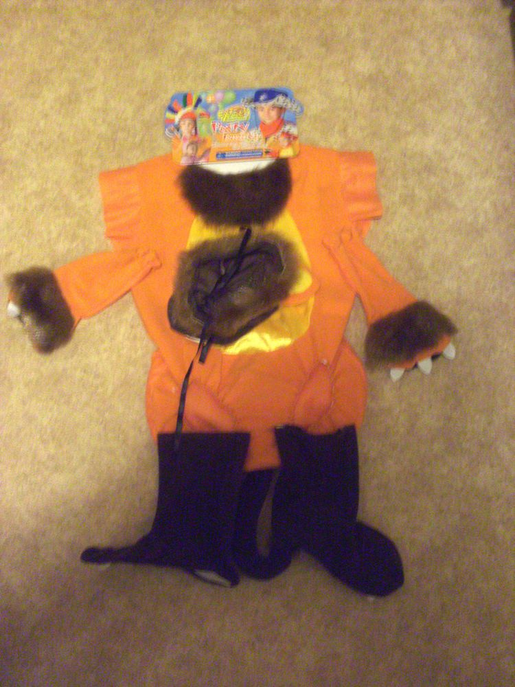 Lion with Long Tail, Fancy Dress/Party Outfit, Unisex/Universal Size, NEW