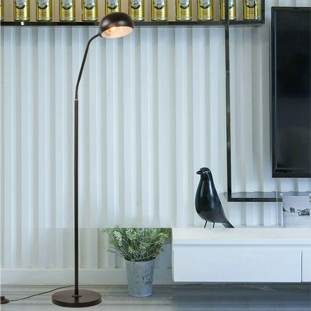 Floor Lamp Gooseneck Eye Led Bedroom Living Room Study Bedside