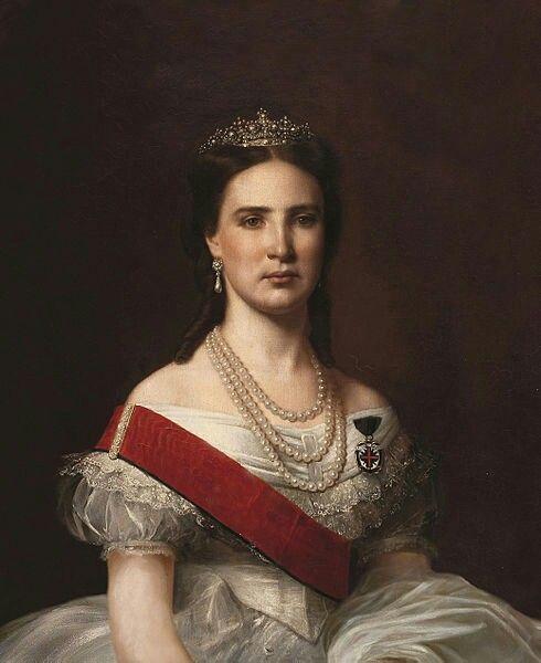 Carlota Emperatriz de México 1864