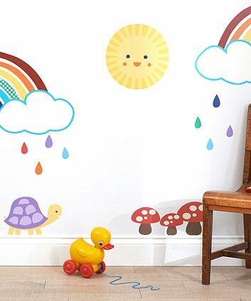 jools oliver little bird   house   pinterest   rainbow nursery decor