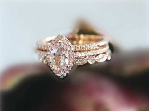 what is morganite find the meaning stunning rose gold morganite rings and unique morganite engagement ring inspirations for your perfect engagement - Morganite Wedding Rings