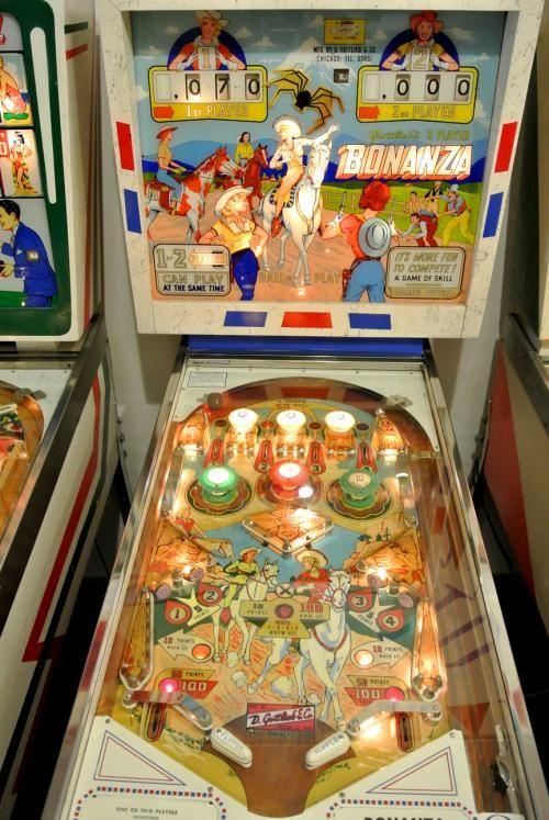 Bonanza Pinball Machine Made In 1964 By Gottlieb Pinball Machine Pinball Pinball Machines