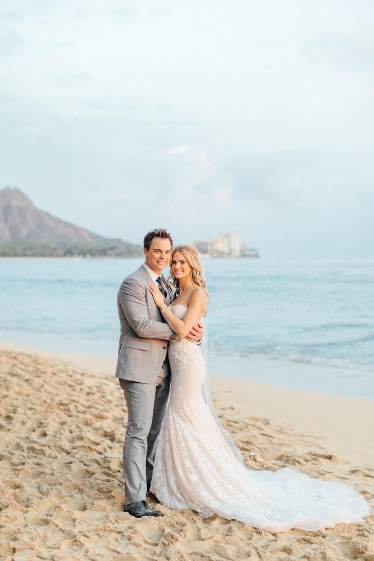 Actors Kelly Kruger and Darin Brooks Had a Gorgeous Wedding in Hawaii