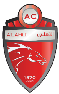Al Ahli Dubai F C Soccer Logo Football Logo Afc Champions League